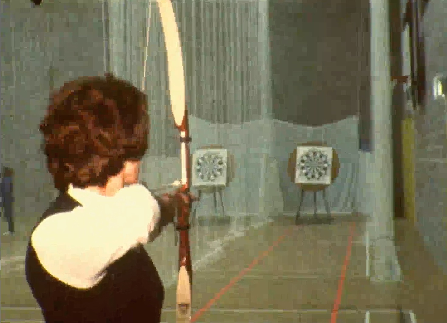 Archery in Dover Sports Centre