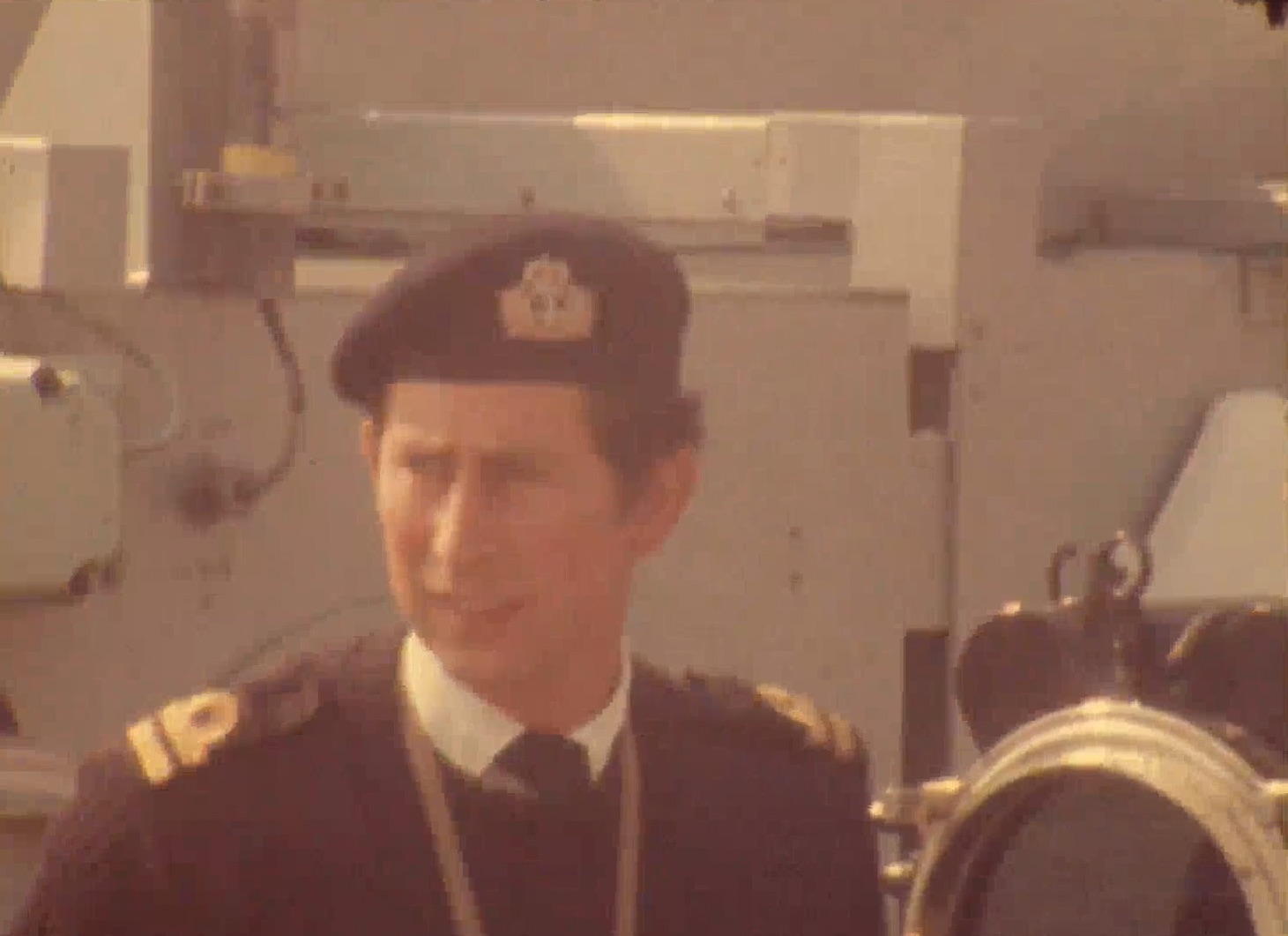 Prince Charles on visit to Dover