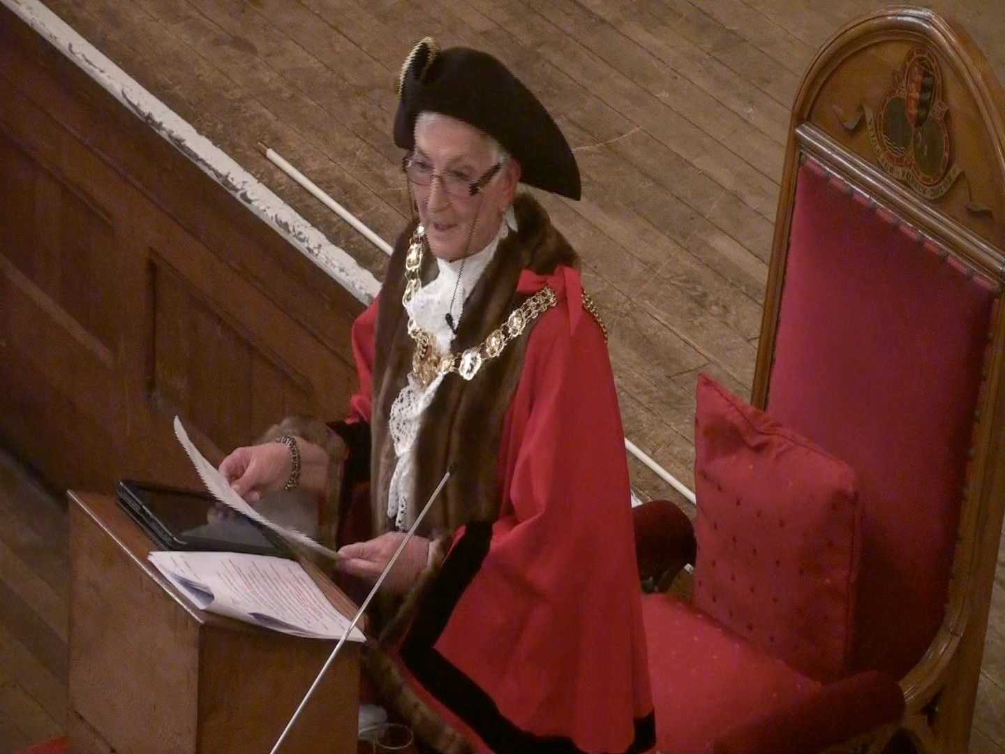 Councillor Mrs Pam Brivio, The Ridgt Worshipful Mayor of Dover 2014