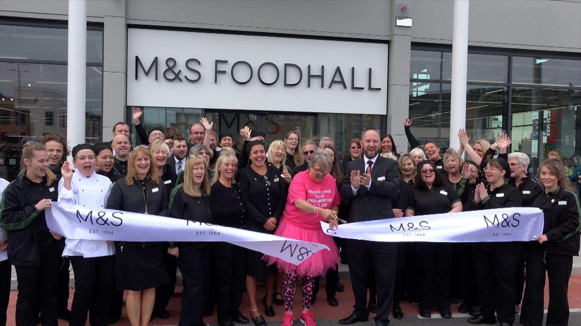 Opening of Marks & Spencer Foodhall